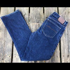 Lauren Ralph Lauren Blue Straight Leg Jean Size 8